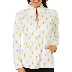 Sunsets and Sweet Tea Womens Seahorse Jacket