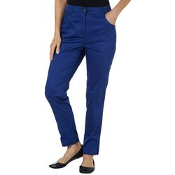 Sunsets and Sweet Tea Womens Solid Straight Leg Pants