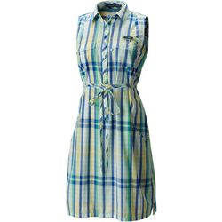 Columbia Womens Super Bonehead II Plaid Dress