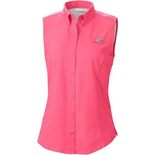 cbb9d6eb54ab6b Columbia Womens PFG Tamiami Sleeveless Shirt