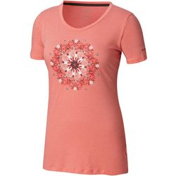 Columbia Womens Butterfly Wing Medallion T-Shirt