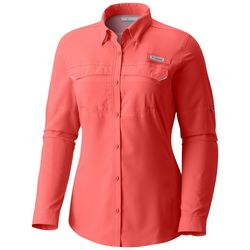 Columbia Womens PFG Lo Drag Long Sleeve Shirt
