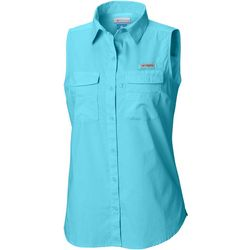Columbia Womens PFG Bonehead Sleeveless Shirt