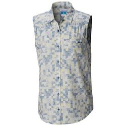 Columbia Womens PFG Sun Drifter Woven Sleeveless Shirt