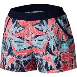 Columbia Womens PFG Tidal Leaf Print Shorts