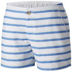 Columbia Womens PFG Solar Fade Thin Striped Shorts