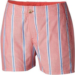 Columbia Womens PFG Solar Fade Vertical Stripes Shorts