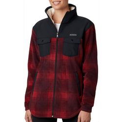 Columbia Womens Benton Plaid Full Zip Jacket