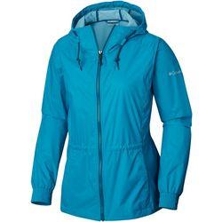 Columbia Womens Proxy Falls Solid Zippered Jacket