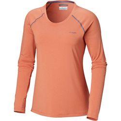 Columbia Womens PFG Tamiami Heather Knit Long Sleeve Shirt