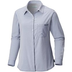 Columbia Womens PFG Reel Relaxed Woven Long Sleeve Shirt