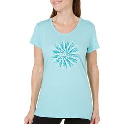 Columbia Womens Daisy Day Medallion T-Shirt