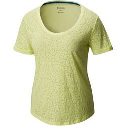 Columbia Womens Sandy River Burnout T-Shirt