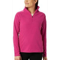 Columbia Womens Glacial IV Solid Half Zip Jacket