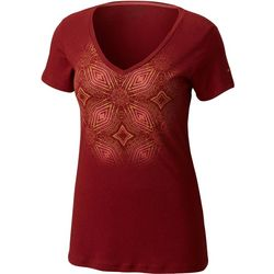Columbia Womens Winter Medallion Short Sleeve T-Shirt