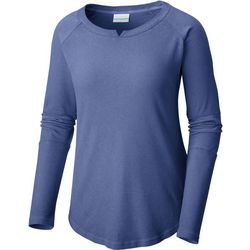 Columbia Womens Fall Pine Washed Crew Top