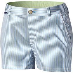 Columbia Womens PFG Harborside Striped Shorts