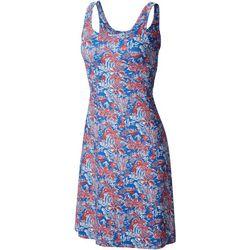 Columbia Womens PFG Freezer III Tropical Palms Dress
