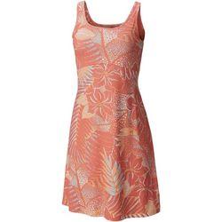 Columbia Womens Pfg Freezer Iii Hawaii Print Dress