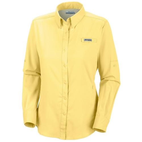 be8acbcb150 Columbia Womens PFG Tamiami II Long Sleeve Shirt