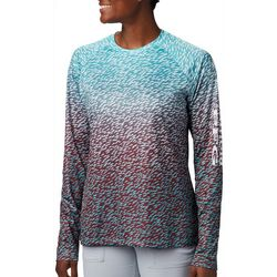 Columbia Womens PFG Super Tidal Fish Print Long