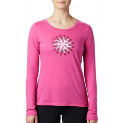 Columbia Womens Tested Tough Ribbon Graphic Long Sleeve Top
