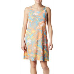 Columbia Womens PFG Freezer III Tropical Leaf Print Dress