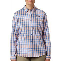 Columbia Womens PFG Super Lo Plaid Shirt