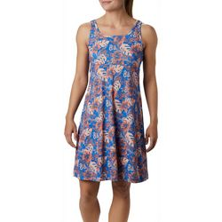 Columbia Womens PFG Freezer III Hibiscus Print Dress