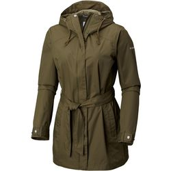 Columbia Womens Pardon My Trench Rain Jacket