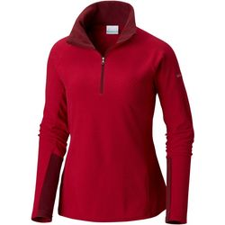 Columbia Womens Glacial IV Textured Half Zip Pullover