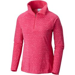Columbia Womens Glacial IV Speckled Half Zip Pullover