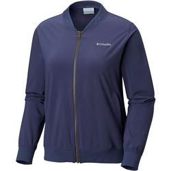 Columbia Womens Anytime Casual Full Zip Bomber Jacket