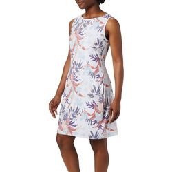 Columbia Womens Chill River Leaf Print Dress