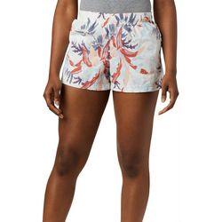 Columbia Womens Sandy River Floral Print Shorts