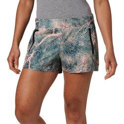 Columbia Womens PFG Tidal Marble Print Shorts