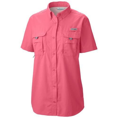 60d1f347553 Columbia Womens PFG Bahama Short Sleeve Shirt
