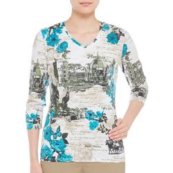 Alia Womens Florence Destination Top
