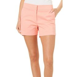 Juniper + Lime Womens Beth Solid Shorts