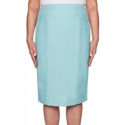 34ba19602 Alfred Dunner Womens Versailles Pencil Skirt