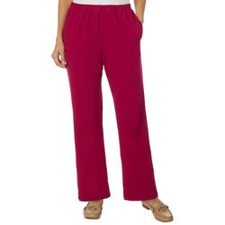 Alfred Dunner Womens Royal Jewels Classic Fit Pull On Pants