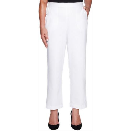 ab6def65ba2 Alfred Dunner Womens Barcelona Classic Fit Pull On Pants