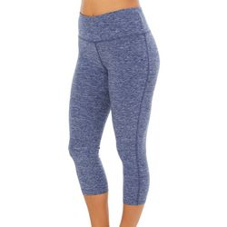 VOGO Womens Heathered Solid Performance Capris