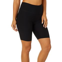 VOGO Womens Solid Knit Bike Shorts