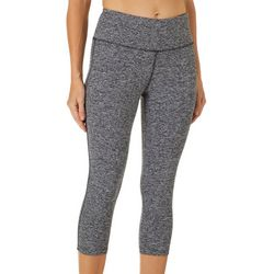 VOGO Womens Space Dyed Performance Capris