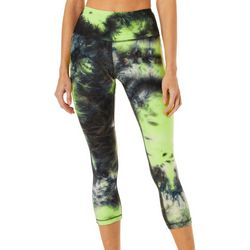 VOGO Womens Tie Dyed Performance Capris