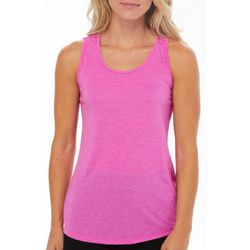 RBX Womens Heathered Crisscross Back Tank Top