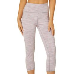 RBX Womens Space Dye Print Capri Leggings
