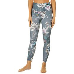 RBX Womens Fantasy Floral Ankle Leggings