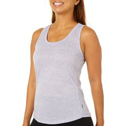RBX Womens Heathered Keyhole Back Tank Top